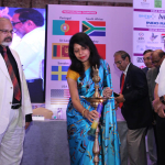 Dr. Kavita Gupta lighening the Lamp