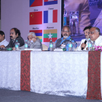 Dr. M.L. Jhunjunwala speaking during Panel Discussion