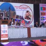 H.E. Saut Siringoringo presenting hie paper