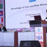 Ishtiaq Ali presenting his paper