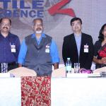 L to R - Arvind Bhansali, Arvind Sinha, Shishir Mankad & Dr. Anagha