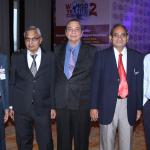 L to R - Haresh Parekh, V.N. Patil, K.D. Sanghvi, V.D. Zope & Pankaj Shukla