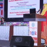 Most Setara Begum presenting her paper