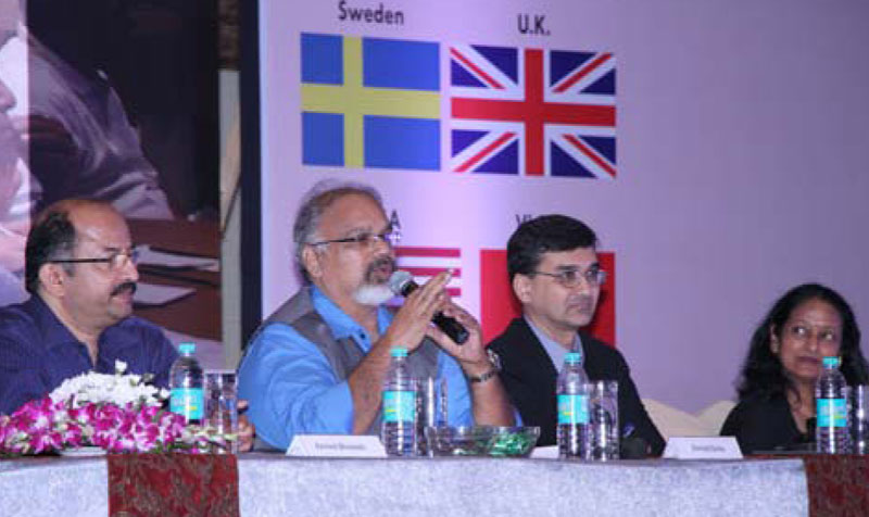 Mr. Arvind Sinha chairing the Session