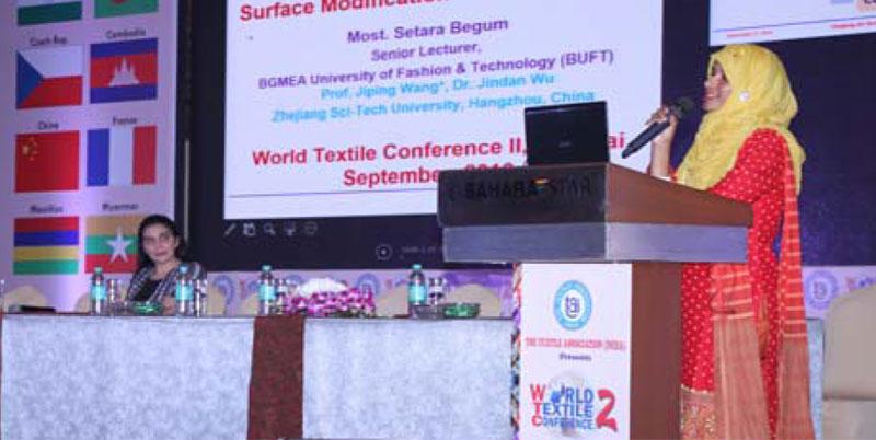 Most. Setara Begum presenting her paper