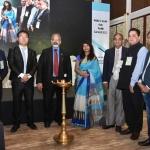 L to R - J.B. Soma, Alan Ran, Arvind Sinha, Dr. Kavita Gupta, V.D. Zope, D.R. Mehta, Haresh Parekh & H.N. Jain