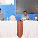 L to R Rajiv Pande, Mr. K.T. Ramakrishnan & Pradeep Mukherjee