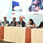 L to R Shailesh Maritus, Faruque Hassan, Felix Fernando, Avinash Mayekar, Chandrima Chatterjee and Arvind Sinha
