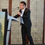 Mr. Alan Ran delivering his speech