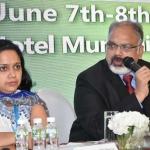 Mr. Arvind Sinha presenting his views