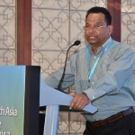 Mr. K.T. Ramakrishnan delivering his presentation
