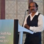Mr. Kannan Krishnamurthy presenting his impressions on the Summit 2017