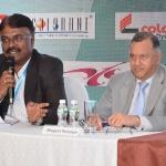 Mr. M.M. Chockalingam presenting his views
