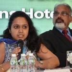 Ms Chandrima Chatterjee presenting her views