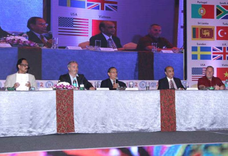 Dr. Kim Gandhi Chairing the Session