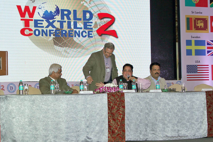Dr. Ullhas Nimkar chairing the Panel Discussion