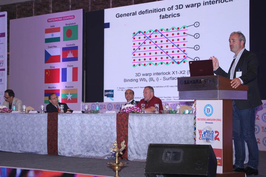 Jiri Militiky presenting his paper
