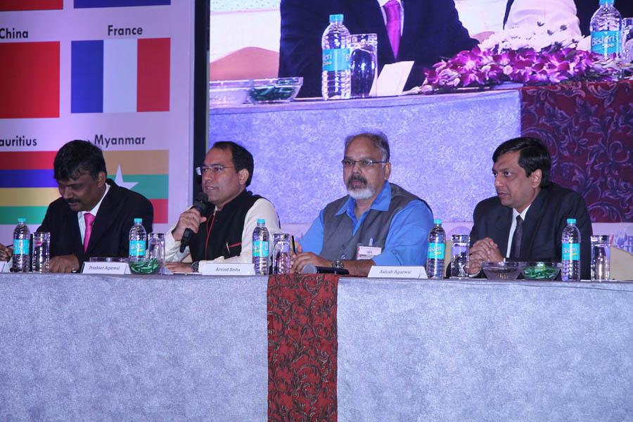 L to R - Ashish Kumar, Prashant Agarwal, Arvind Sinha & Ashish Agarwal