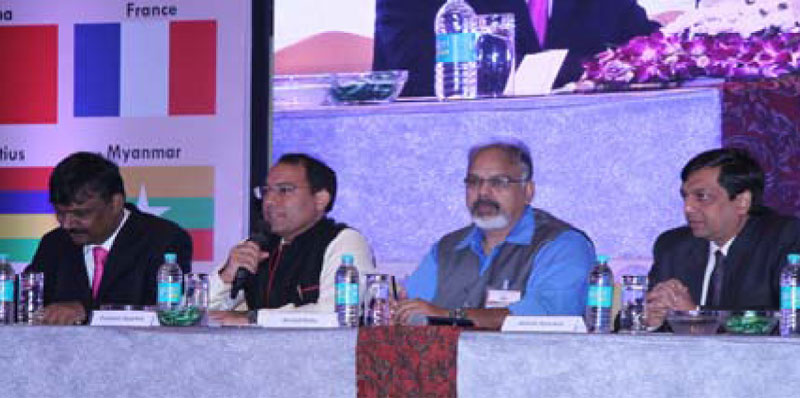 Mr. Prashant Agarwal, Moderator briefing about the panel discussion