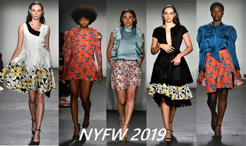 Colorjet Styling Sustainable Fashion Printing At Nyfw 2019 Textile Association Of India